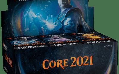 Core Set 2021 Caja de Sobres