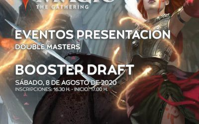 Double Masters Booster Draft: Sábado