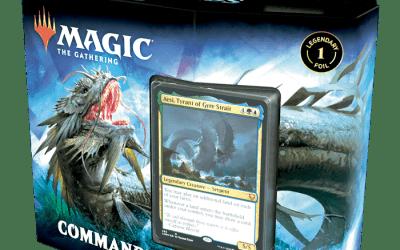 Commander Legends Deck: Rap the Tides