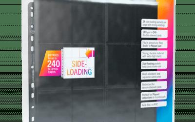 Gamegenic 24 Pocket Pages Side-Loading