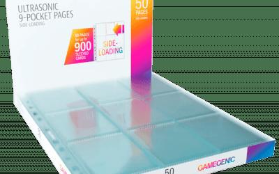 Gamegenic Ultrasonic 9 Pocket Pages Side-Loading