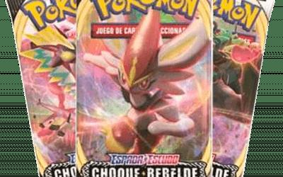 Pokémon Sword & Shield 5: Choque Rebelde Booster